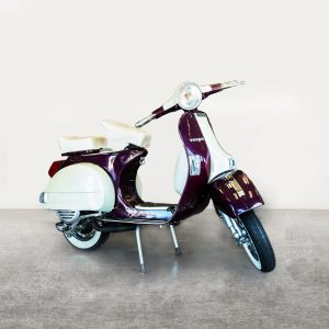 Vespa P150 - Purple/White