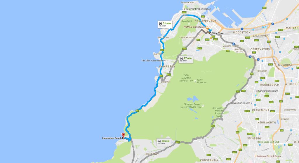 llandudno-beach-map