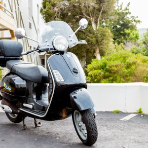 Vespa GTS125 - Black