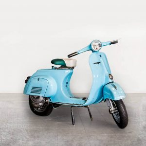 Vespa VBB 150 - Powder Blue angle